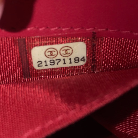 chanel bag serial number check